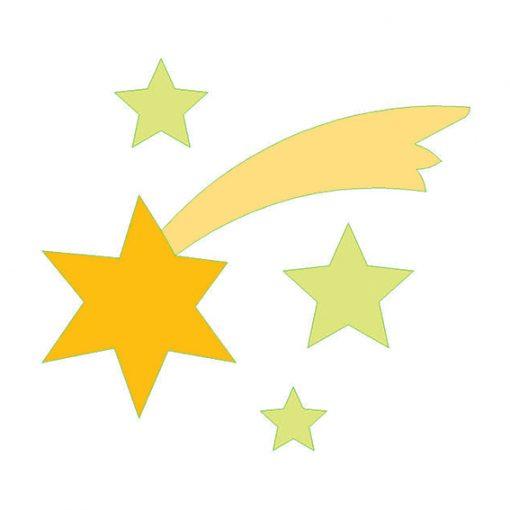 fustella stella cometa
