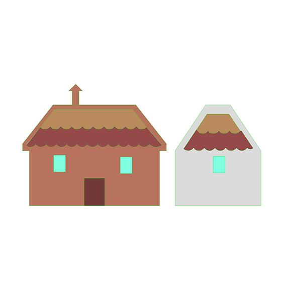 fustella casa montagna