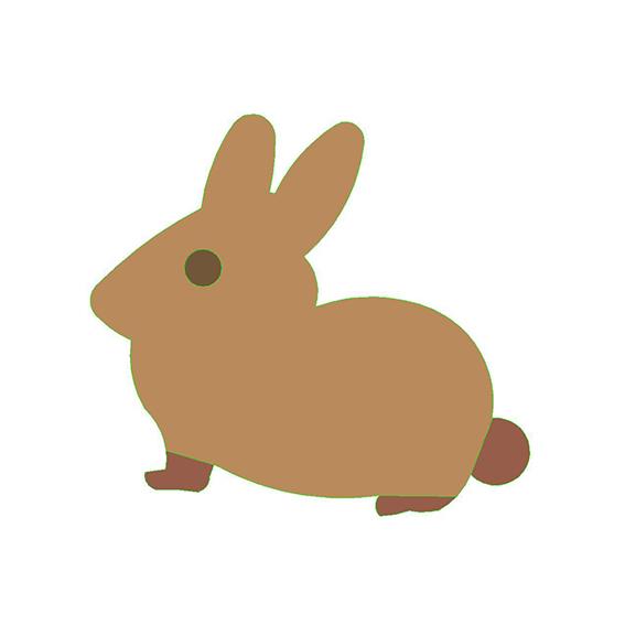 fustella coniglio