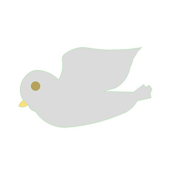fustella colomba