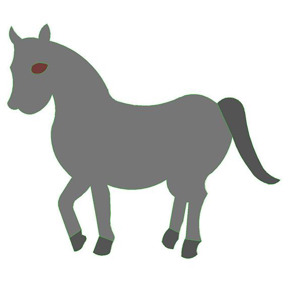 fustella cavallo