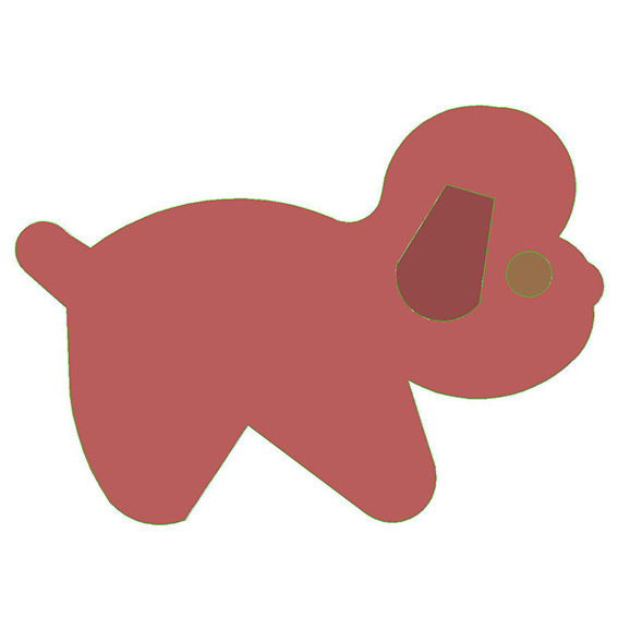 fustella cane