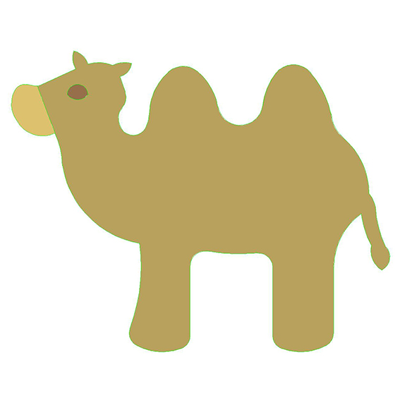 fustella cammello
